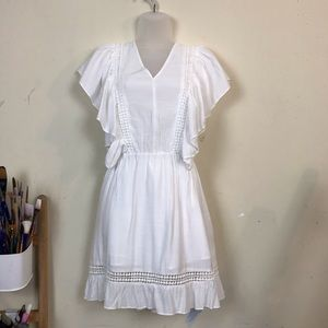 Target White Bohemian Short Dress
